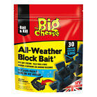 STV Big Cheese All-Weather Rat & Mouse Rodent Killer Poison 15 or 50 Block Bait
