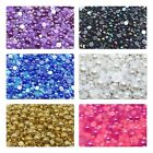 1000 Half Round Pearl Flat back Beads Embellishment Cabochons Card Making 4-10mm