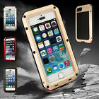 """Fashion Waterproof Aluminum Gorilla Glass Metal Cover Case for iPhone 6 4.7"""" HOT"""
