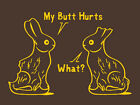 FUNNY TSHIRT GILDAN chocolate rabbit kids mens womens tshirt college humor punk