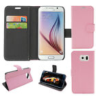 Magnetic Card Holder PU Leather Wallet Stand Case Cover For Samsung Galaxy S6 k1