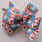The Cat In The Hat Hair Bows - Dr Seuss Clips Or Bobbles