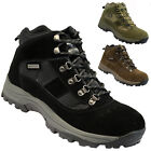 MENS WYRE VALLEY WATERPROOF LEATHER WALKING HIKING WINTER WORK BOOTS SHOES SIZE