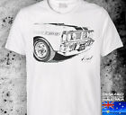 XY FORD GT falcon SM to 3XL FPV xa xc xr xp white australian v8 mens tshirt