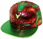 New Era 59fifty Character Armor Vision Burgundy Green Avengers 2 Age of Ulton