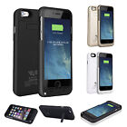 """External Backup Battery Charger Case Cover For iPhone 6 4.7"""" Plus 5.5"""" Portable"""