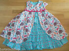 Jelly the Pug girl summer dress 5-6 y  BNWT designer elephant print