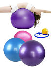 75cm Exercise Yoga Ball Banlance Ball Thick Durable Pilates Fitness & Air Pump