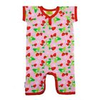 BNWT Baby JNY Design Strawberry Shortie Sleepsuit NEW Organic Cotton Romper