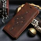 """Retro Genuine Flip Leather Wallet Case For iPhone 6 Plus 5.5""""/4.7"""" Stand Cover"""