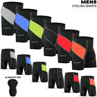 Mens Cycling Shorts Lycra Tights MTB Cycle Bicycle Hi-Density Padded All Sizes