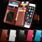 "Luxury 9 Card slot Pu Leather Wallet Case Flip Cover For iPhone 6 4.7"" Plus 5.5"""