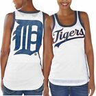 Detroit Tigers Women's White Opening Day Tank Top