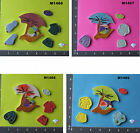 Going to the Beach  - HANDMADE, CERAMIC MOSAIC TILES ( Pick you Group ) #1
