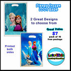 DISNEY FROZEN ELSA ANNA OLAF LOOT/LOLLY BAGS PARTY SUPPLIES - PACK OF 10