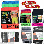 6 PAIRS MENS BUTTON FLY SOFT JERSY BOXER SHORTS UNDERWAER PANTS TRUNKS BRIEFS