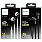 Original Philips TX1 Clear Natural Sound HeadsFree Mic For iPhone Android Phone