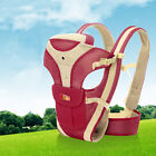 Baby Front Carriers Adjustable Infant Rider Wrap Sling Cotton Comfort Backpack