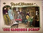 ONE GLORIOUS SCRAP '25 LC COWBOY FRED HUMES! STUNNING HAND-TINTED COLOR!  RARE!