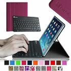 Slim Case Magnetic Detachable Wireless Bluetooth Keyboard Cover for Apple iPad
