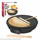 "Electric 12"" inches 1000 Watt Non Stick Large Pancake Crepe Maker Machine - NEW"