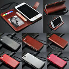 "Luxury PU Leather Wallet Flip Cover Stand Case For iPhone 4S 5S 5C 6 4.7""/6 Plus"