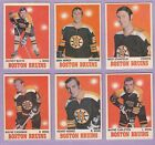 1970-71 , O-PEE-CHEE , Hockey , #'s 2 to 145 , Pick From Drop Down List
