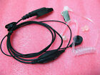 Transparent Tube Earphone VOX PTT FOR Motorola Radio GP328+ plus GP338+ plus