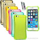 Slim Fit Soft Gel Transparent Hand Grip Skin Hybrid Case Cover For iPhone 6 PLUS
