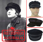 Wool Felt Bakerboy Greek Fisherman Military Music Band John Lennon Hat Cap Large