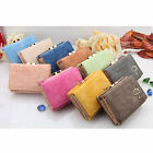 Style Women's Fashion Leather Wallet Button Clutch Purse Lady Short Handbag Bag