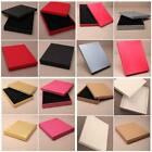 Square Jewellery Bracelet Necklace Gift Box With Foam Insert In 8 Colours