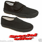NEW UNISEX BOYS GIRLS KIDS CHILDREN SCHOOL PE PUMPS PLIMSOLLS SHOES TRAINERS