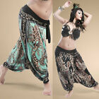 New Unique Tribal Belly Dance Costume Dancing Performance Pants Trousers Prints