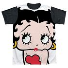 Boop Big Boop Head All Over Print With Black Back T-Shirt