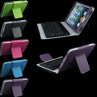 Stand Leather Folio Case Cover with Bluetooth Keyboard for Apple iPad Mini 1 2 3