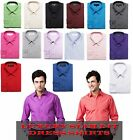 Men's Luxury Dressy & Casual Slim Fit Stylish Dress Shirts Convertible Cuff