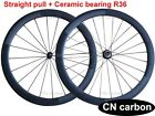 Ceramic bearing R36 hub 50mm Tubular carbon road wheels 20.5mm, 23mm 25mm width