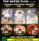 Star Wars Original Theatrical Trilogy Versions Release Cut 3 Dvd Han Shot 1st