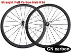 R36 Straight Pull hub  U Shape 38mm Clincher carbon road bicycle wheels