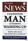 Ulster Weavers News Out Tea Towel ~ Man ~ Woman ~ Teenager