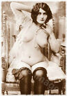 Vintage 139 1920's Erotic Female Nude Sepia Retro PHOTO REPRINT A4 A3 or A2 Size