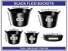 BLACK GORILLA FLEXI FEED BUCKET BUILDERS STORAGE TUB 14LTR 26LTR 42LTR 75LTR