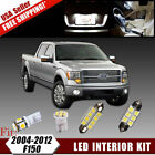 16 PCS Xenon White SMD LED Lights Interior Package Kit For 2004-2012 Ford F150