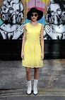 "Love Bricklane ""Tilly""  Yellow Stipe Dress."