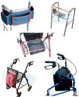 Walking Aid Accessories Bag Basket Pouch Rollator Tri Walker Zimmer Frame