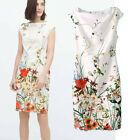 BLOGGER FAV VTG FLORAL Flower Printed Wedding Bridesmaid Party top Tube DRESS