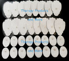 REPLACEMENT ELECTRODE PADS (16 LG + 16 SM OVAL) FOR ESTIM IFC EMS MASSAGER