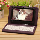 """iRulu 7"""" Google GSM Android 6.0 New Quad Core Tablet Dual Cam 1/16GB w/Keyboards"""