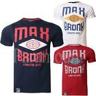 Max Edition Bronx Print Crew Neck T-Shirt  Mens Size